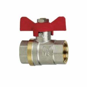 Кран вода JIF 1/2' г/г баб (354)