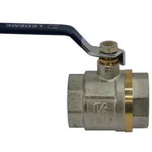 Кран вода LDM 1 1/2' г/г руч