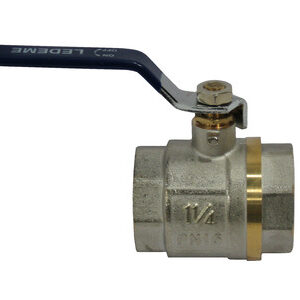 Кран вода LDM 1 1/4' г/г руч