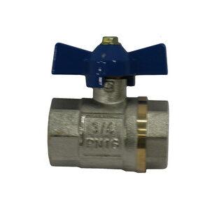 Кран вода LDM 3/4' г/г баб