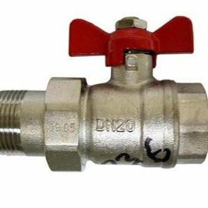 Кран вода RR 1/2' баб американка (366)