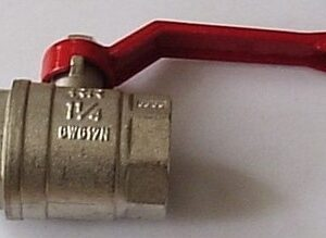 Кран вода RR 1 1/4' г/г руч (371)