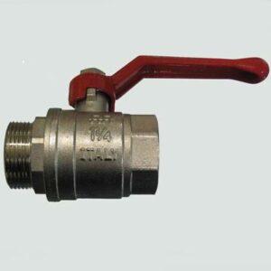 Кран вода RR 1 1/4' г/ш руч (370)