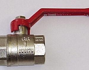 Кран вода RR 1' г/г руч (371)