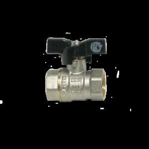 Кран вода СТК (рег.№468190) 1/2' г/г баб PN 25