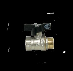 Кран вода СТК (рег.№468190) 1/2' г/ш баб PN 25