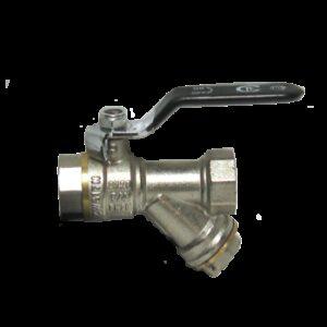 Кран вода СТК (рег.№468190) 3/4' с фильтром руч. PN 20