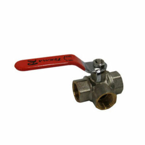 Кран вода трёхходовой 3/4 руч (30541/31059) Т - тип