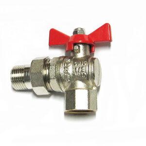 Кран вода VALTEC 1/2' г/ш баб американка углов. (VT.228.N.04)