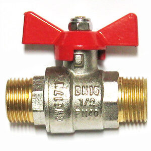 Кран вода VALTEC 1/2' ш/ш баб (VT.219)