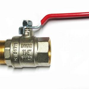 Кран вода VALTEC 1 1/4' г/ш руч (VT.215)