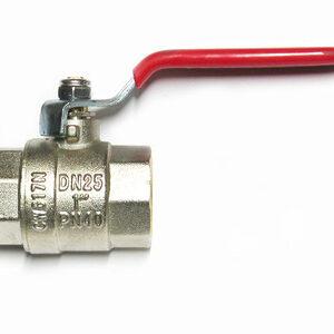 Кран вода VALTEC 1' г/г руч (VT.214)
