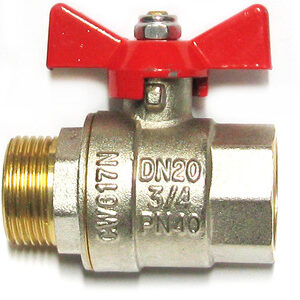 Кран вода VALTEC 3/4' г/ш баб (VT.218)