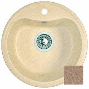 Мойка GRANICOM NOVELL Лира 430*420 мм (терракотовый) (без сифона)