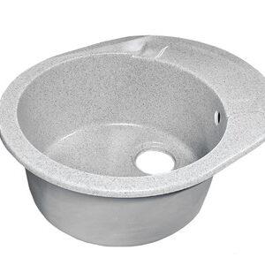 Мойка GRANICOM NOVELL Нимфа 570*460 мм (серый) (без сифона)