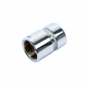 Муфта стяжная д/полотенцесушителя 1'х3/4' г/г хром (2 шт)