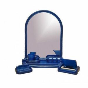 Набор д/ван ком с зерк арка синий