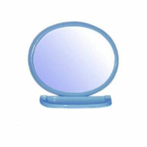 Набор д/ван ком с зерк овал голубой