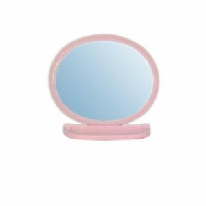 Набор д/ван ком с зерк овал розовый