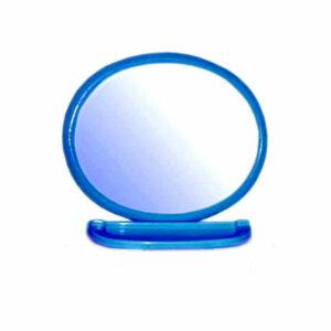 Набор д/ван ком с зерк овал синий