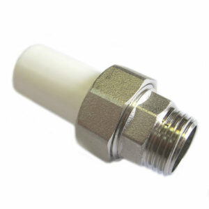 Ниппельное соединение 20х1/2 штуцер PP-R Rosturplast (25)