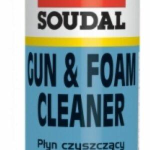 Очиститель для удаления полиуретановой пены СОУДАЛ PU FOAM Cleaner 12*500 мл (122716)