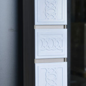 Пенал 'Альба' 2 двери ,1ящик (петли Blum) 350х1850х340