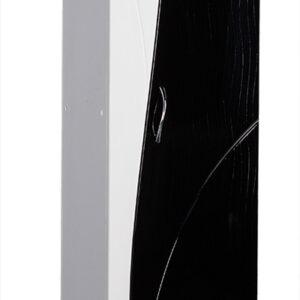 Пенал 'Allessandro' 350х1900х300 (белый/черный)