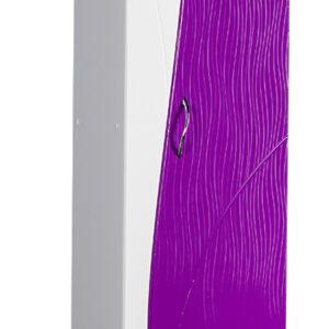 Пенал 'Allessandro' 350х1900х300 (белый/фиолетовый)