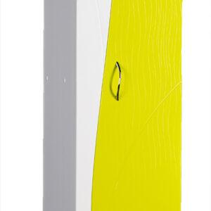 Пенал 'Allessandro' 350х1900х300 (белый/лайм)