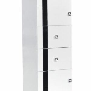 Пенал ГАММА 2 двери 2 ящика (1900*350*325)