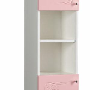Пенал 'Глория' с нишей (розовый) 320*1812*280
