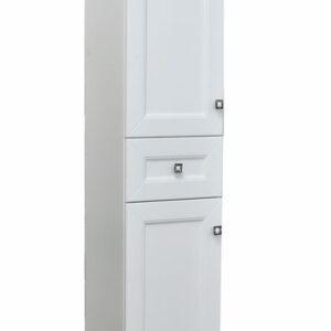 Пенал 'Гранд ' белый Софт 2 двери 1 ящик 350х1900х325