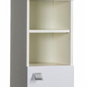 Пенал 'РИО' 2 двери с нишей (белый) 320х1812х310/4550-1