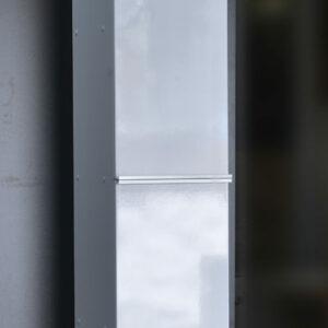 Пенал 'Тивори' 2 дв (подвесной) белый 330*1600*300