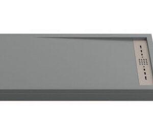 Поддон STELLA мрамор 120х80 ГРАФИТ (без автослива) ЛП00065
