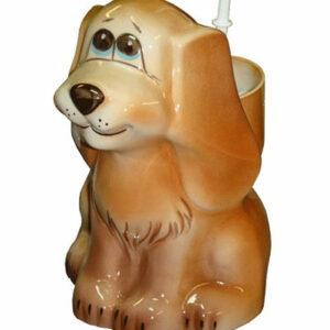 Подставка под ёрш (+ ершик) 'Собака'