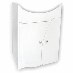 Подстолье 'Камея 50' (белый) 2 двери под умыв. 'Эрика-50' 487х850х286