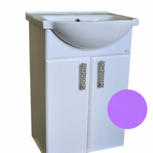 Подстолье 'Марта-50' 2 двери (Фиолетовый) под умыв. 'Nati-50' 465х800х300