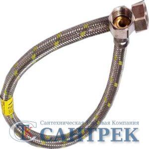 Подводка газовая в нерж. оплетке120 см г/г