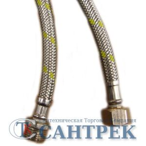 Подводка газовая в нерж. оплетке120 см г/ш