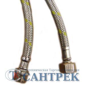 Подводка газовая в нерж. оплетке 30 см г/ш
