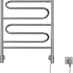 Полотенцесушитель электрический Ривьера Э 50-60, 70вт.(К-кнопка, Справа) 06881