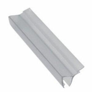 Профиль силиконовый (водоотсекатель) 'F' на стекло 4 мм (180см) ПСВ-02 4-180 (1шт)