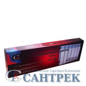 Радиатор алюминиевый СТК (рег.№468190) 200х80 12 секций