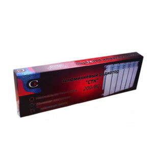 Радиатор алюминиевый СТК (рег.№468190) 200х80 14 секций