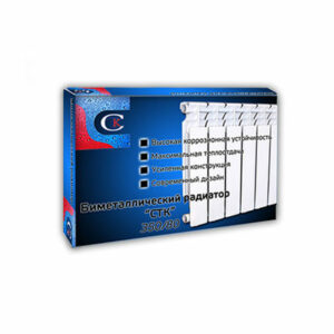 Радиатор биметаллический СТК (рег.№468190) 350х80 10 секции