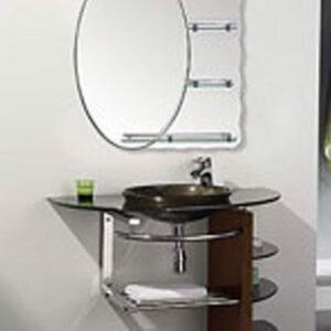 Раковина стеклянная LUX (L208-48-30) (4 части)