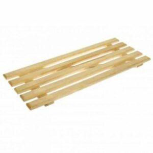 Решетка деревянная на ванну 28 х 70см