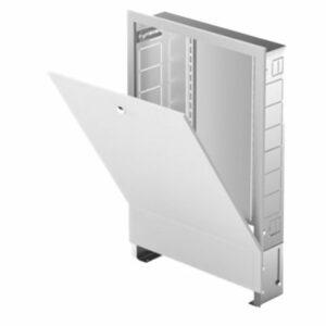 Шкаф коллекторный ШРВ7 (выс. 670мм, шир. 1344мм, глуб. 125-195мм)